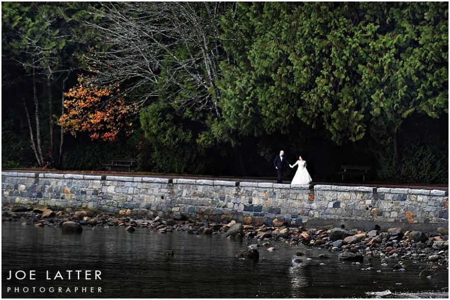 0010 Vancouver British Columbia Stanley Park Wedding