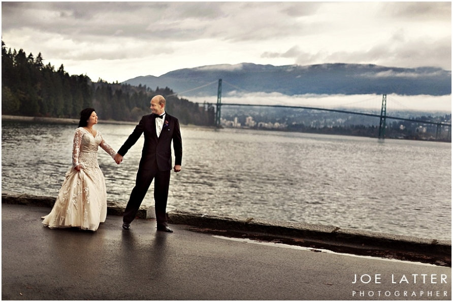 0014 Vancouver British Columbia Stanley Park Wedding